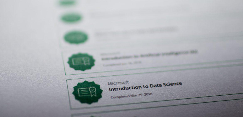 Michael Mertens » Microsoft Data Certifications